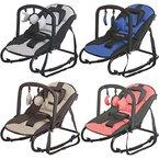 RELAX STARDUST Babywippe Babytrage Schaukel Babyschaukel Babywiege + Spielbogen (BRAUN/BEIGE)