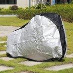 GHB Fahrradschutzhülle wasserdicht Fahrradabdeckung Fahrradgarage aus 190T Polyester