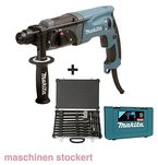 Makita Bohrmaschine plus Bohrer und Meißelset, 1 Stück, HR2470