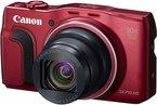 Canon PowerShot SX710 HS Digitalkamera (20,3 Megapixel CMOS, 30-fach optischer Zoom, 60-fach ZoomPlus, HS-System, opt. Bildstabilisator, 7,5 cm (3 Zoll) Display, Full HD Movie 60p, WLAN, NFC) rot