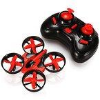 EACHINE E010 Mini UFO Quadrocopter Drohne Remote Control Quadcopter Spielzeug (Rot)