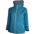 Cox Swain Kinder 3-Lagen Outdoor Softshell Jacke Hannah - 10.000mm Wassersäule 5.000mm atmungsaktiv, Farbe: Blue, Größe: 7/8