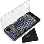 KooPower Mini Schraubendreher Set mit 54 Bits Magnetische Präzisions Reparatur Werkzeug Kit für Elektronische Kleingeräte, Handy, Tablet, PC, Macbook, etc.