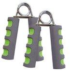 Schildkröt Fitness HANDMUSKELTRAINER 2er Set , (Chrome / grey-green), 960022