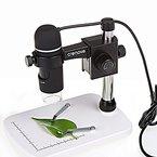 USB Mikroskop, Crenova USB 2.0 USB Digitalmikroskop 5MP 20X-300X Lupe Foto-Videokamera Endoskop mit 8 LED-Leuchten Einstellbare Höhe Stand für Windows XP / VISTA / WIN7 8 10 / Mac OSX