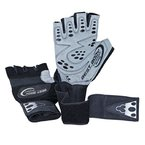 Best Body Nutrition Herren Zubehör Best Body - Handschuhe Top Grip, Paar, M