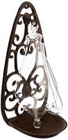 Esschert Design Glasbarometer Gußeisenhalterung, transpartent, 13.9 x 12 x 27.7, TH31