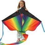Riesiger Drachenflieger zum Verkauf - fliegt in jeder Brise - perfekt für Kinder, einfach zu fliegen - leicht und stabil | 100% Geld-zurück-Garantie