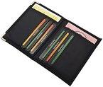 Ausweis- und Kreditkartenetui mit Metallschutzecken in 2 verschiedenen Designs (Modell 1 / Ohne Folie)