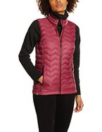 SALEWA Damen Fanes Down Vest Daunenweste, Red Onion, 36