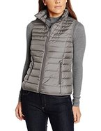 s.Oliver Damen Weste Lightdaune 04.899.53.3708, Grau (Light Grey 9176), 38