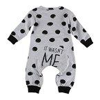 puseky Baby Jungen Mädchen (0-24 Monate) Langarm Spieler Kleidung Strampler 0~6 Monate