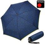 Knirps Piccolo Regenschirm Taschenschirm optimism royal klein & leicht