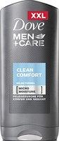 Dove Men+Care Duschgel Clean Comfort XXL, 6er Pack XXL Größe (6 x 400 ml)