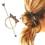 Contever Bohemia Hair Barrette Accessory designed for Fashion Vintage Hair Clasp Hair Stick - Bronzer by Contever