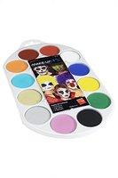 Smiffy's - Make-Up FX Palette, Aqua Gesichts- und Körperfarbe