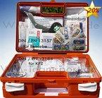 Erste-Hilfe-Koffer KITA incl.Desinfektion nach DIN/EN 13157 für Betriebe + DIN/EN 13164 für KFZ - mit Verbandbuch & Wundreinigung