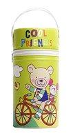 Rotho Babydesign 306520205BD Isolierbox fuer Weithalsflaschen, aquamarine / apple green