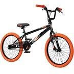 20' BMX deTOX Freestyle Kinder BMX Anfänger, Farbe:schwarz/orange