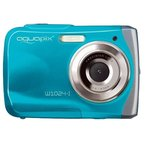 "Easypix 10012 Unterwasser Digitalkamera ""Aquapix W1024-I Splash"" in Eisblau"