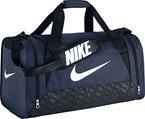 Nike Unisex Sporttasche Brasilia 6, midnight navy/schwarz/weiß, 61 x 32 x 30 cm, 84 Liter, BA4829-401