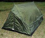 2 Personen Zelt »Ranger« mit Boden und Moskitoschutz BW-Flecktarn Oliv (Oliv)