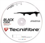 Tecnifibre Tennissaite TF Black Code 1.24 mm, 200 m, 116652