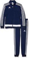 adidas Kinder Sportanzug Tiro15 pes su y, dunkel blau/Weiß, 116, S22298