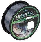 """Specitec """" Forelle """"SchnurØ 0,22mm -Farbe: Smoke Clear Transparent - Angelschnur monofil Zielfischschnur"""