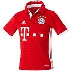 adidas Jungen Fußball/Heim FC Bayern München Replica Trikot, Fcb True Red/White, 140