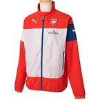 PUMA Herren Jacke AFC Leisure Jacket With Sponsor, High Risk Red-Gray Dawn-Estate Blue-White, XL, 746382 01
