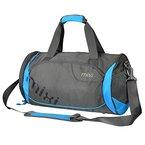 """NEU! Mixi Trendsetter Sporttasche / Carry On Sport-Reisetasche mit Schulterriemen , Reißverschlussfächer (Skywalker Blau, 18"""")"""