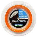 Yonex Saiten für Badmintonschläger BG80 Power, 200 m Reel Orange orange