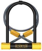 Onguard Bügelschloss Bulldog DT-8012, mit Schlüssel, Schwarz, 11,5x23cm
