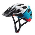 Cratoni MTB-Fahrradhelm 'AllSet', Größe: S/M (54-58cm), weiß/blau/rot/matt (1 Stück)