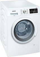 Siemens iQ500 WM14T420 iSensoric Waschmaschine A+++ / 1400 UpM / 7 kg / Weiß / VarioPerfect / Großes Display mit Endezeitvorwahl / Selbstreinigungsschublade