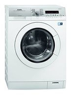 AEG L77485PFL Waschmaschine FL / A+++ / 135 kWh/Jahr / 1400 UpM / 8 kg / Silber / Dampfprogramme / OptiSense-Waschsystem