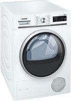 Siemens iQ700 WT47W560 iSensoric Wärmepumpentrockner / A++ / 8 kg / weiß / Selbstreinigender Kondensator / softDry-Trommelsystem / Super40