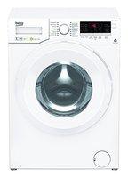 Beko WYA 71483 LE Waschmaschine Frontlader / A+++ / 1400 UpM / 171 kWh/Jahr / 7kg / Weiß / 9020 L/Jahr / Weißes LC-Display