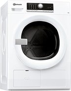 Bauknecht TR Move 81 A3 Wärmepumpentrockner / Energieklasse A+++ / 8 kg / Startzeitvorwahl / Weiß / Verbesserter Knitterschutz / Supersanft- Programm für sehr empfindliche Textilien / WoolPerfection