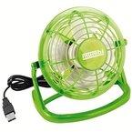 mumbi USB Ventilator - Mini Fan für den Schreibtisch mit An / Aus-Schalter, grün