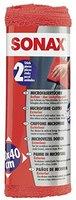 SONAX 04162410 Microfasertücher Außen der Lackpflegeprofi, 40X40 cm (2 St.)