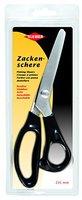 Kleiber 235 mm Rostfreie Schneider-Zackenschere, schwarz