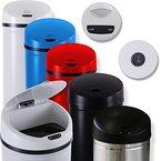 Kesser® Automatik Sensor Mülleimer Abfalleimer Abfall EDELSTAHL Papierkorb 30L 40L 50L (30 Liter, Blau)