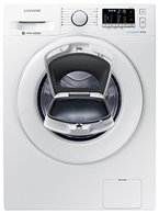Samsung WW80K5400WW/EG Waschmaschine FL / A+++ / 116 kWh / Jahr / 1400 UpM / 8 kg  / weiß / Add Wash / Smart Check / Digital Inverter Motor