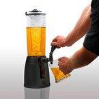 4,0L Biersäule Zapfsäule Kult Biertower Getränkespender mit 1,3L Eiskühlung