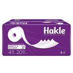 "Hakle Toilettenpapier ""Sanft & Sicher"" 4-lagig, 1er Pack (1 x 20 Stück)"