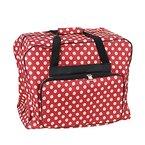 Nähmaschinen Tasche XL (rot/creme gepunktet)