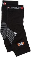 X-Bionic Erwachsene Funktionsbekleidung Biking OW Knee Warmer Evo DX SX No Seam, Black/White, L/XL, O100277