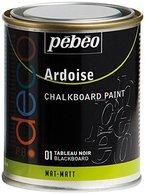 Pebeo 93501 Tafelfarbe 250 ml Metalldose, schwarz